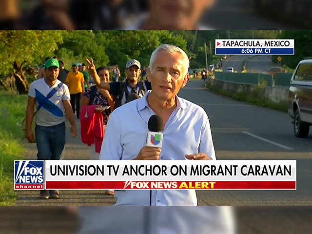 Jorge Ramos Defends Migrant Caravan on Fox News: 'There's No Invasion Here'