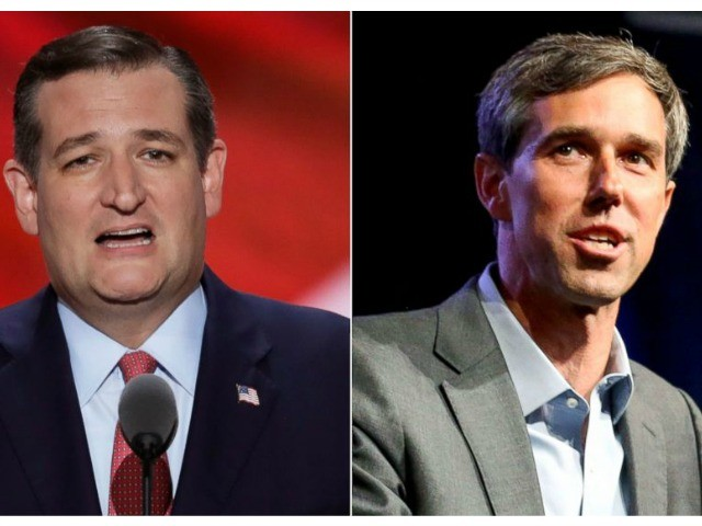 Ted Cruz Leads Big Money Beto O'Rourke in Texas Senate Battle by 6 Points
