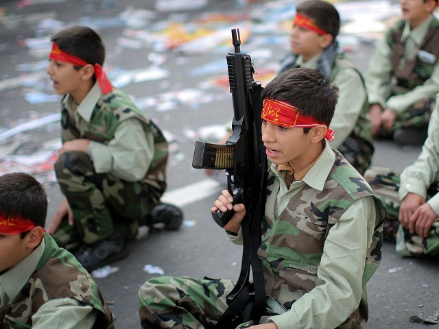 U.S. Sanctions Network of Banks, Businesses Backing Iran's Use of Child Soldiers