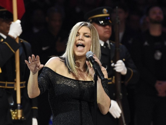 Fergie's National Anthem Remix Mocked by Golden State Warriors