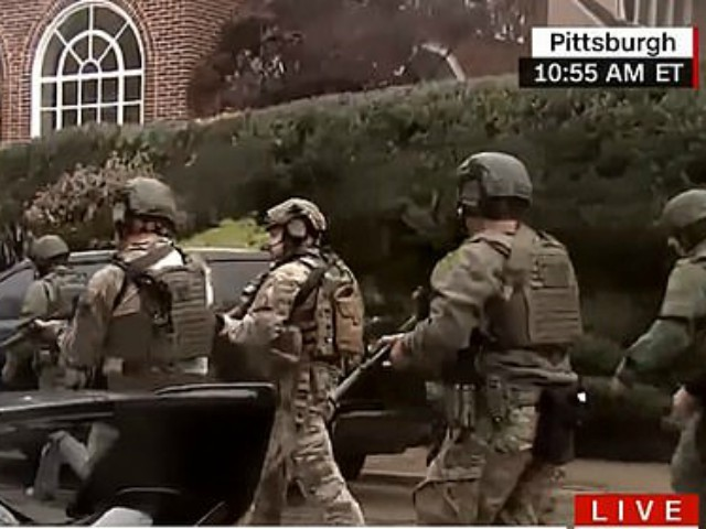 At Least Seven Dead and Officers Shot in Saturday Morning Attack on Pittsburgh Synagogue
