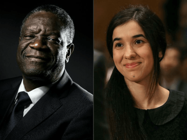 Yazidi Islamic State Victim, Congolese Doctor Win 2018 Nobel Peace Prize