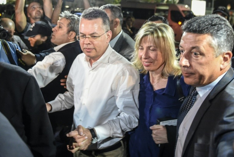 Watch Live: Released U.S. Pastor Andrew Brunson, President Trump in Oval Office