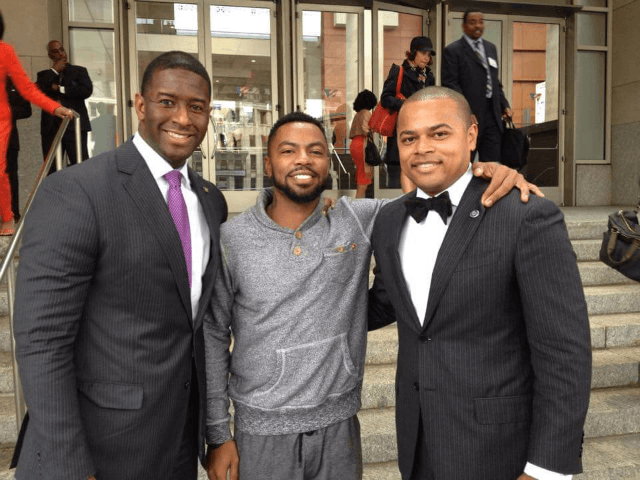 Photo: Andrew Gillum 'Could Not Be Prouder' Posing with Anti-Capitalist, Anti-Israel Radical