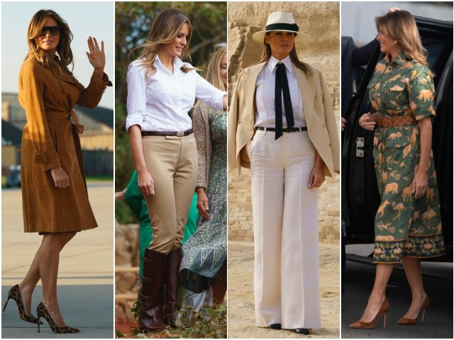 Fashion Notes: Melania Trump Takes Her Stylish Elegance to Africa (PHOTOS)