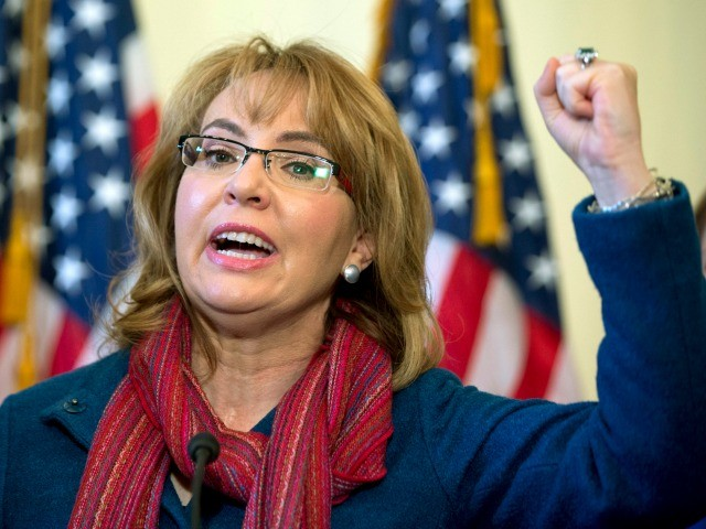 Gabby Giffords Campaigning to Flip Rep. Darrell Issa's Seat for Gun Control and Resist Movement