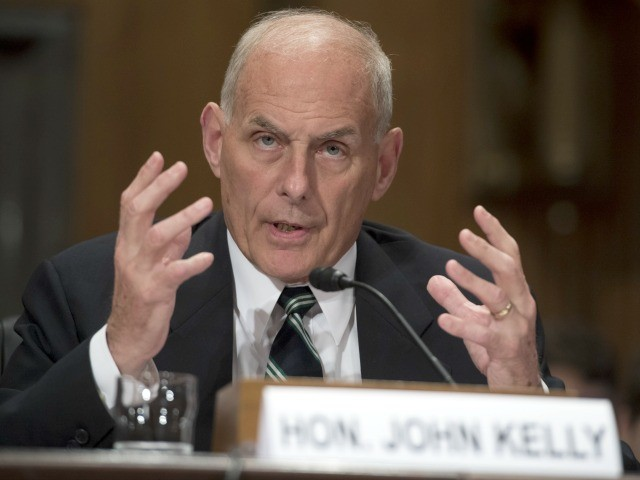WSJ: John Kelly, Chinese Official Had 'Physical Altercation' over Nuclear Football