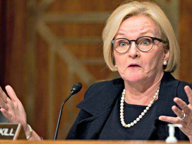 Claire McCaskill Claims Trump's Border-Wall Push Hurts Anti-Drug Campaign