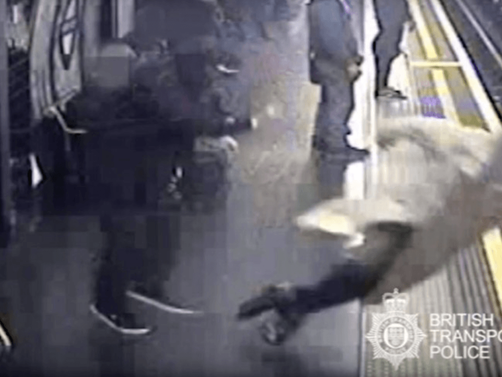 VIDEO: Man Pushes 91-Year-Old onto Tube Tracks, Guilty of Attempted Murder