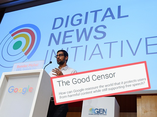 Watch: Alex Marlow Interviews Allum Bokhari About 'The Good Censor' Google Leak