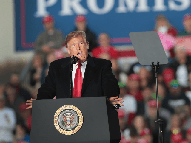 Trump Tells Rally 'Never Again' in Wake of Synagogue Shooting