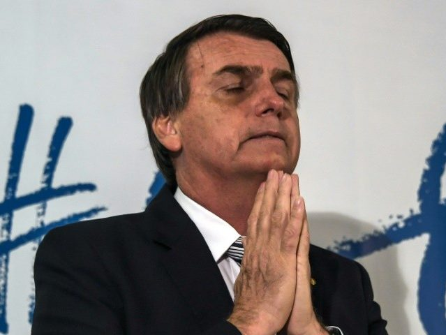 Jair Bolsonaro Thanks God for Surviving Campaign Stabbing