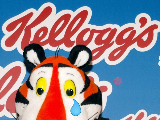 Investors #DUMPKELLOGGS: Kellogg's Shares Have Their Worst Day in 20 Years after Profits and Sales Crash