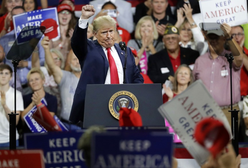 ***Live Updates*** Trump Holds Florida Rally for DeSantis, Scott
