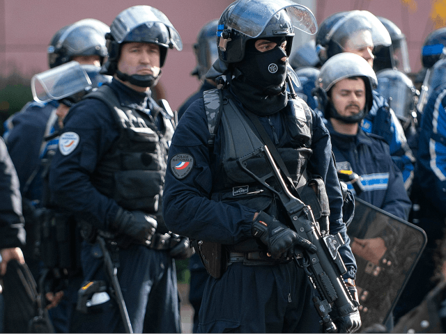 Macron's France: Shock Video Shows Cops Line High Schoolers Against Wall