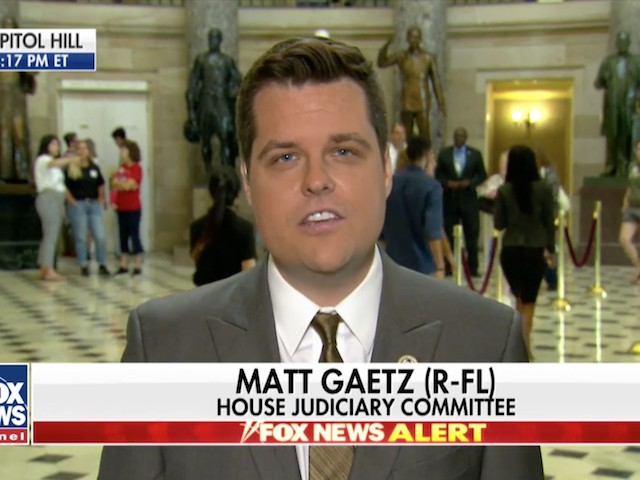 Gaetz: Comey Has 'Selective' Amnesia if Facts Are Favorable for Trump