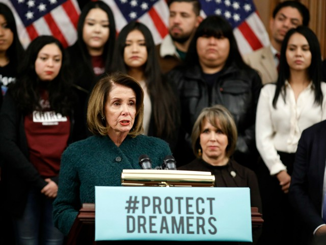 Nancy Pelosi Promises to Pass Illegal Alien Amnesty via Dream Act