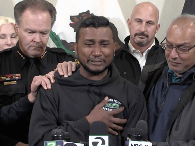 Watch--Brother of Officer Allegedly Killed by Illegal Alien Mourns: 'A Lot of People Miss Him'