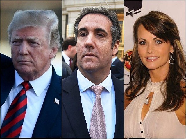 Donald Trump: Michael Cohen Payoffs to Women a 'Private Transaction' Not Campaign Contribution