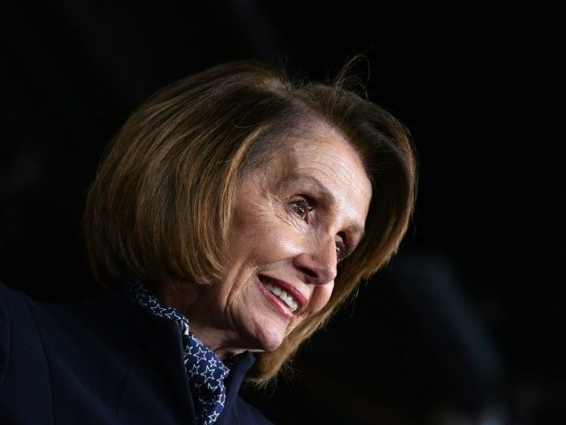 Nancy Pelosi Mocks Donald Trump Wall Compromise as 'Beaded Curtain'