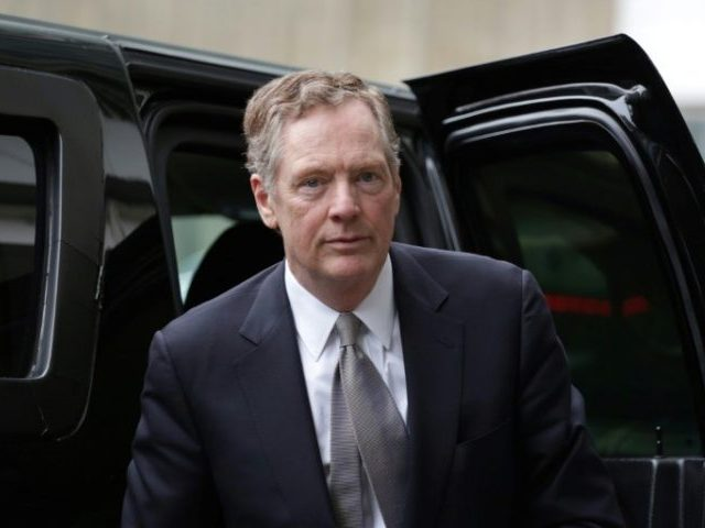 Lighthizer Will Run the China Trade Talks