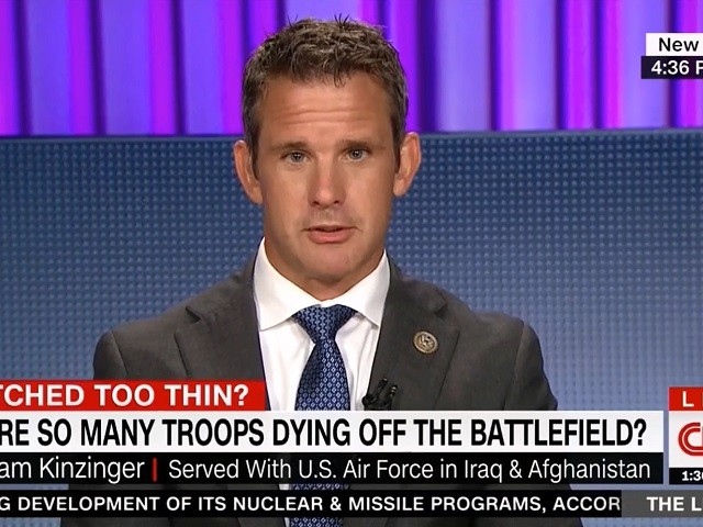 GOP Rep. Kinzinger: Afghanistan Drawdown Will Lead To 'Major Consequences'