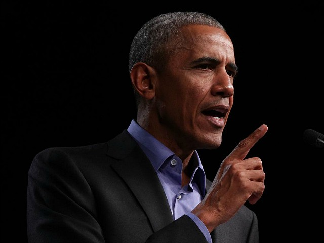 Obama Pushes Gun Control for 'Trayvon' and 'Those Congregants in Thousand Oaks'