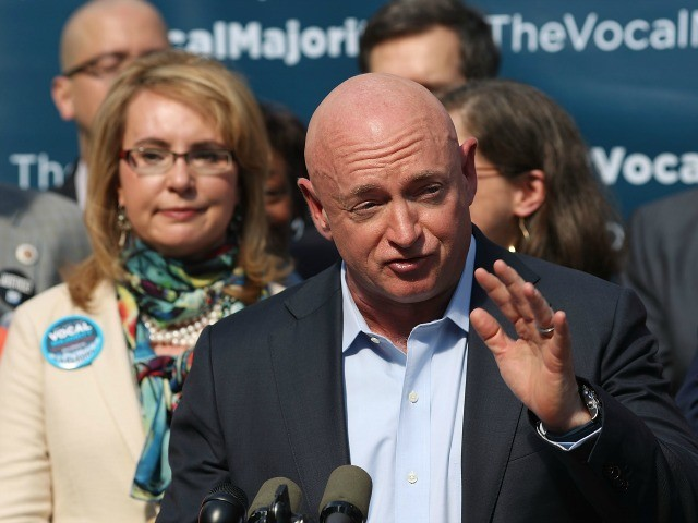 Gabby Giffords' Husband Mark Kelly Considers 2020 Arizona Senate Run