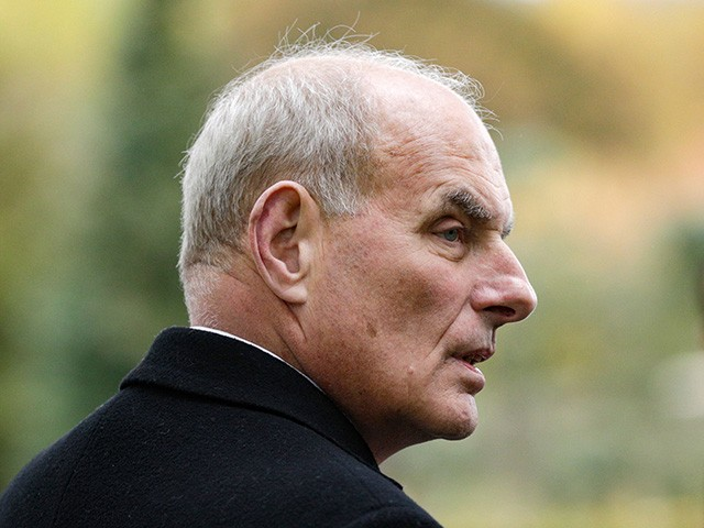 John Kelly Exit Interview: No Wall, No Politics, but the President Was Informed