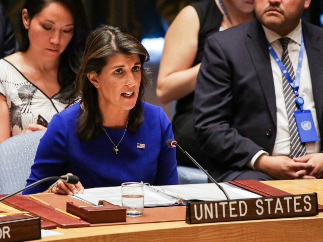 Haley: We Need to Tell Saudis 'We Can't Continue to Partner' with Country That Brutalizes People