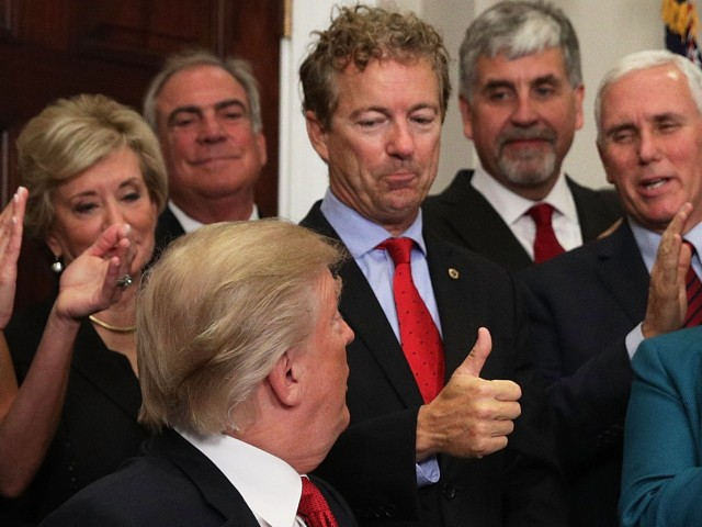 WaPo Columnist: Rand Paul 'Steering' Trump Towards America First Foreign Policy