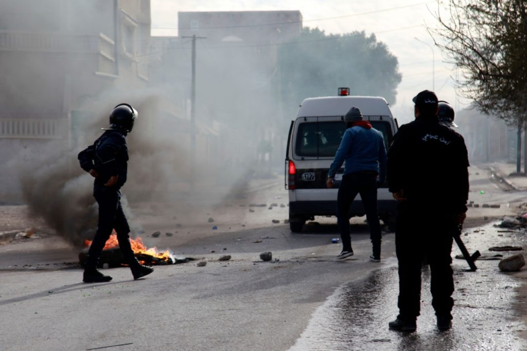 Tunisia: Protests Erupt After Journalist Sets Himself on Fire
