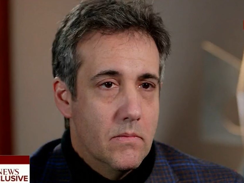 Cohen: 'I Am Done with the Lying'