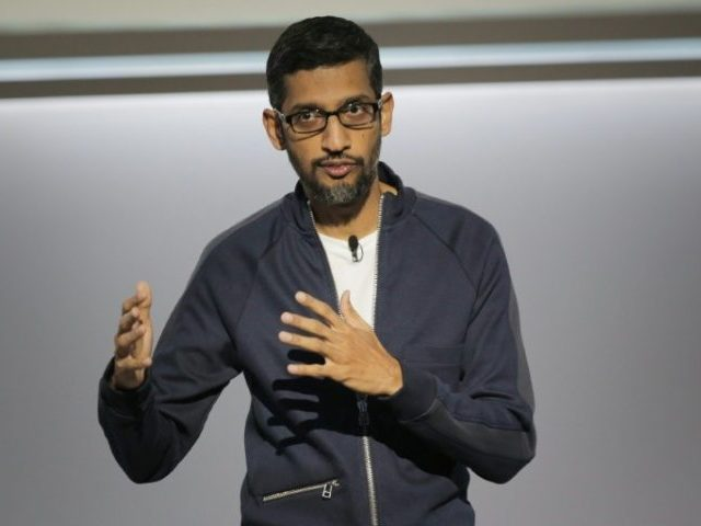 Bokhari: Axios Defends Google Following CEO Pichai's Congressional Hearing