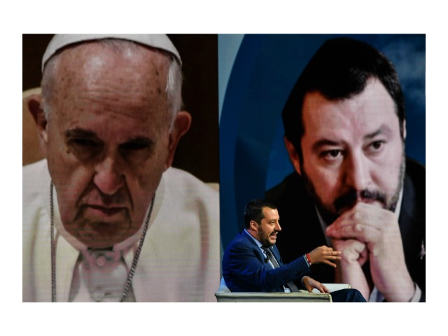 Matteo Salvini Cites Pope John Paul — Not Francis — in Christmas Card