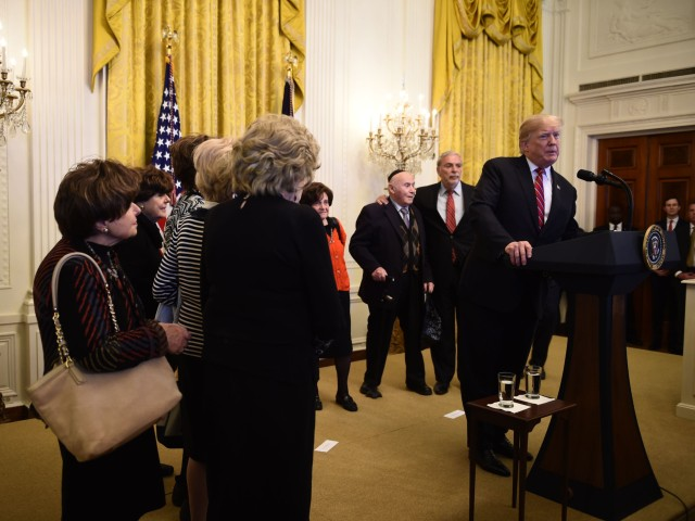 Donald Trump Welcomes Holocaust Survivors to White House Hanukkah Party