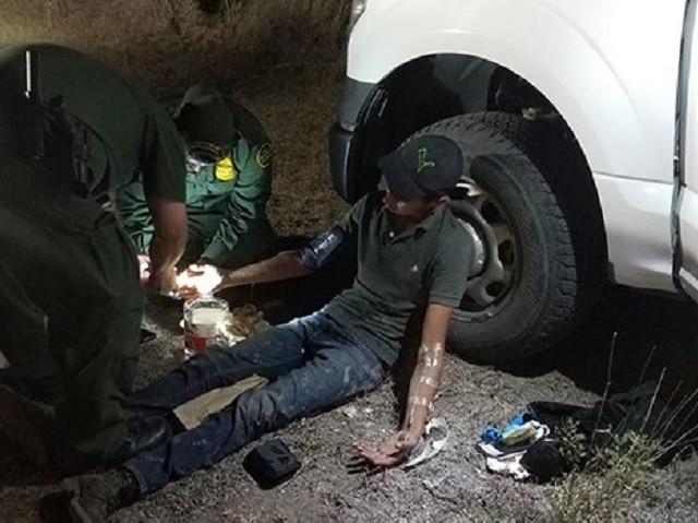 Border Patrol Agents Rescue Lost Guatemalan 50 Miles from Mexican Border