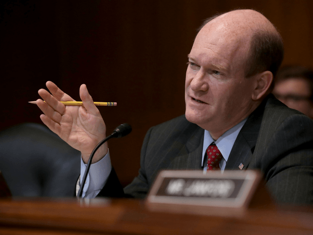 Democrat Chris Coons: Border Wall a 'Waste of Money'
