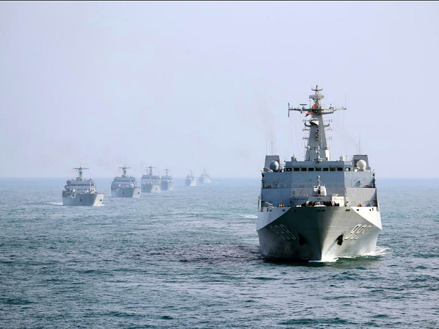 China Increases Naval Patrols Around Taiwan to Challenge U.S. Navy