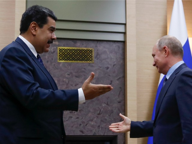 Maduro Thanks Putin for Helping Venezuela 'Survive'