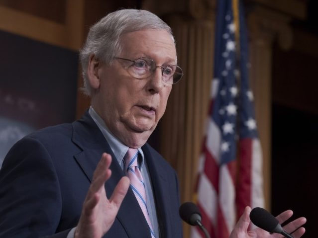 Mitch McConnell to Introduce Stop-Gap Spending Bill Through to February