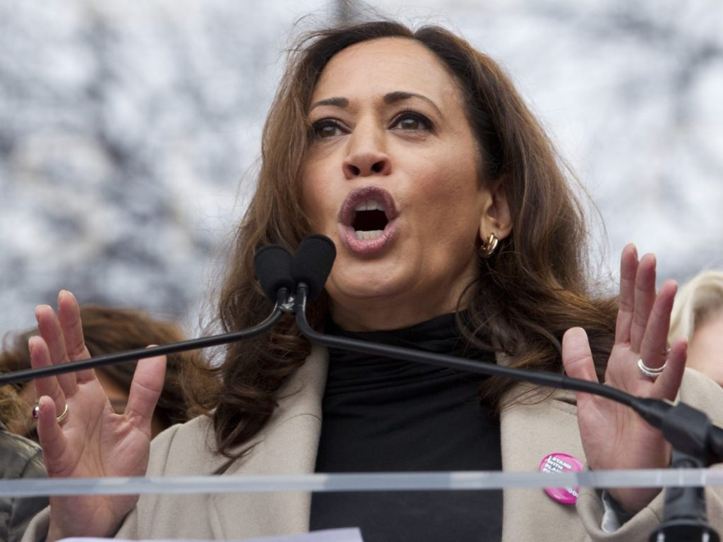 2020: Kamala Harris Announces Book Tour