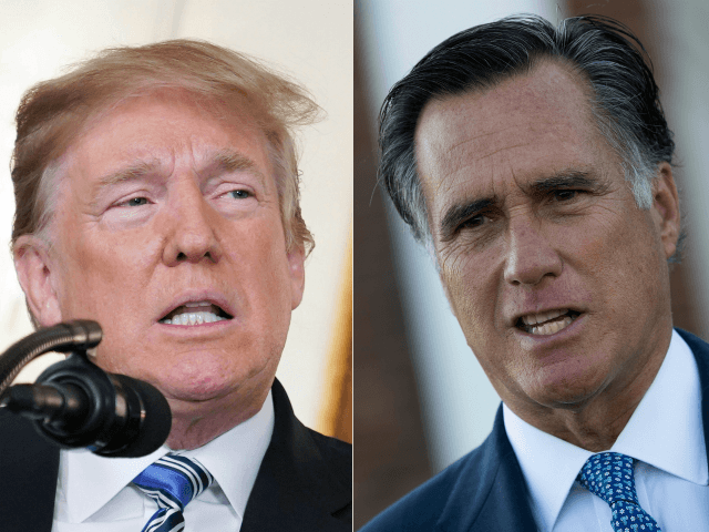 Donald Trump Touts Rising Wages, Mitt Romney Urges 'Responsibility'