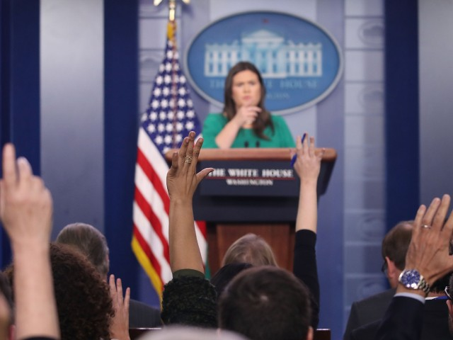 Sarah Sanders: Idea That the WH Isn't Accessible 'Absolutely Laughable'