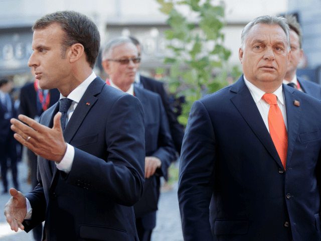 Hungary's Orban Says He 'Must Fight' French President Macron on Immigration