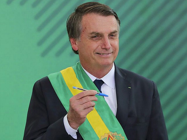 Brazil's Jair Bolsonaro: 'Hoodlums Already Have Guns,' Time to Level Playing Field