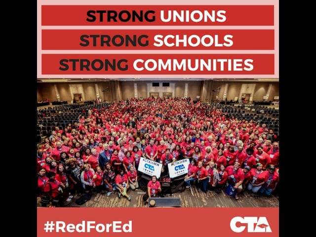 Teachers Unions Tout Radical '#RedForEd' Movement as Strike Looms in Los Angeles