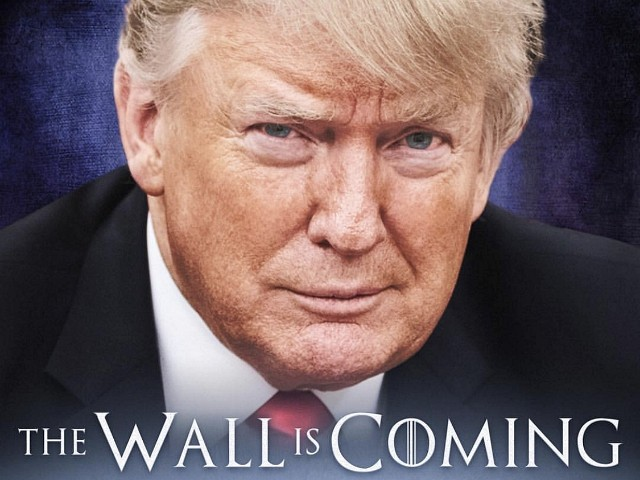 Donald Trump Unleashes 'Game of Thrones' Meme to Build the Wall