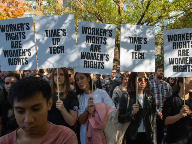 Google Employees Launch Campaign to Pressure Silicon Valley on Workplace Harassment