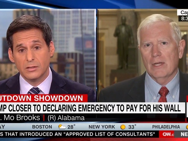 GOP Rep. Brooks, CNN's Berman Clash Over Border Security -- 'How Many Dead People Do You Have to Have, John?'